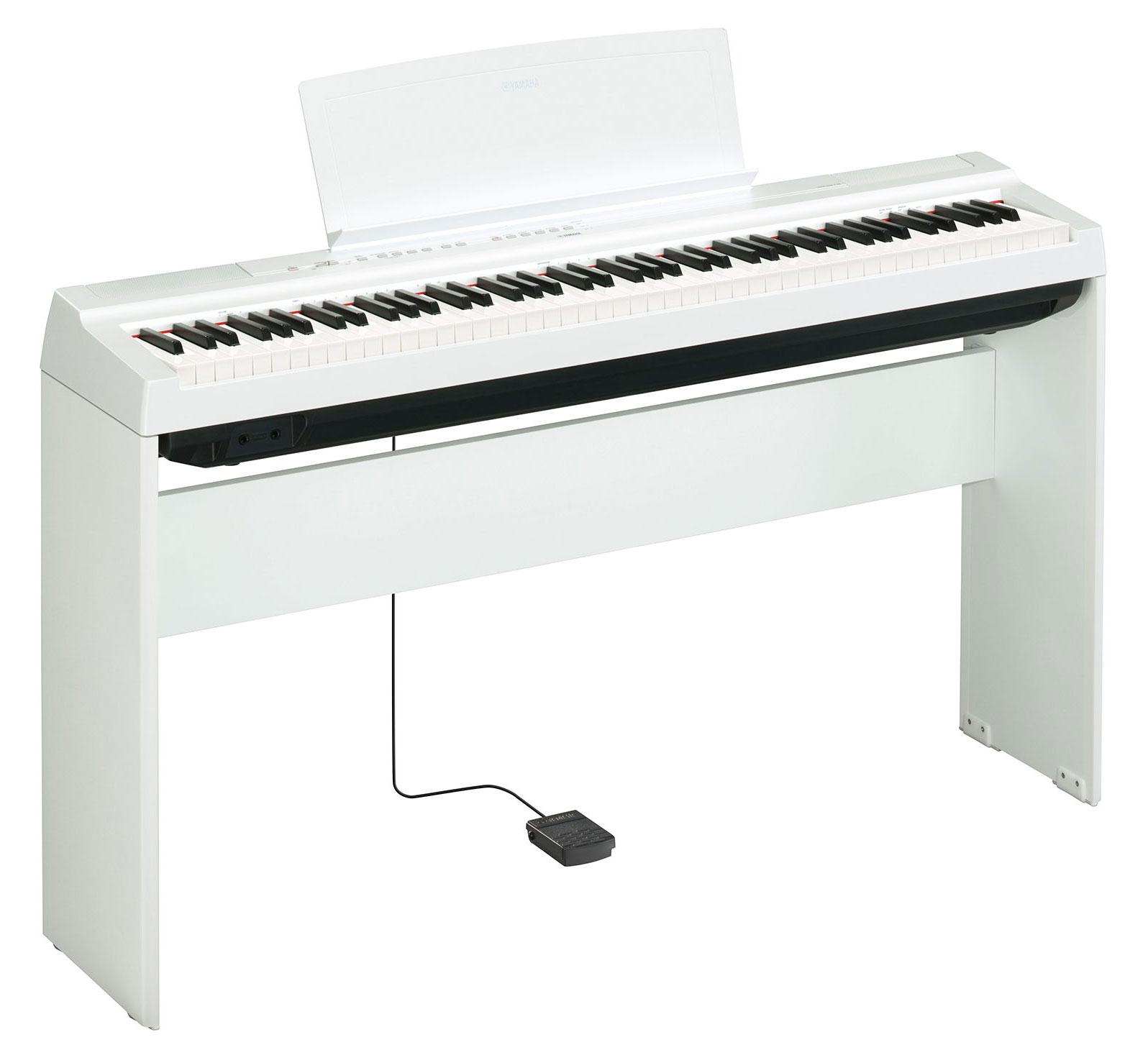 Цифровое фортепиано YAMAHA P-125WH 2