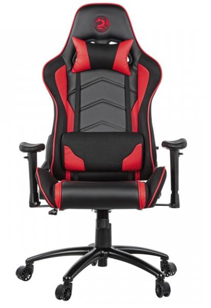 Игровое кресло 2E GC25 Black/Red