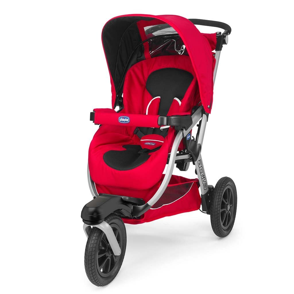 Коляска Chicco ACTIV3 STROLLER RED WAVE 2