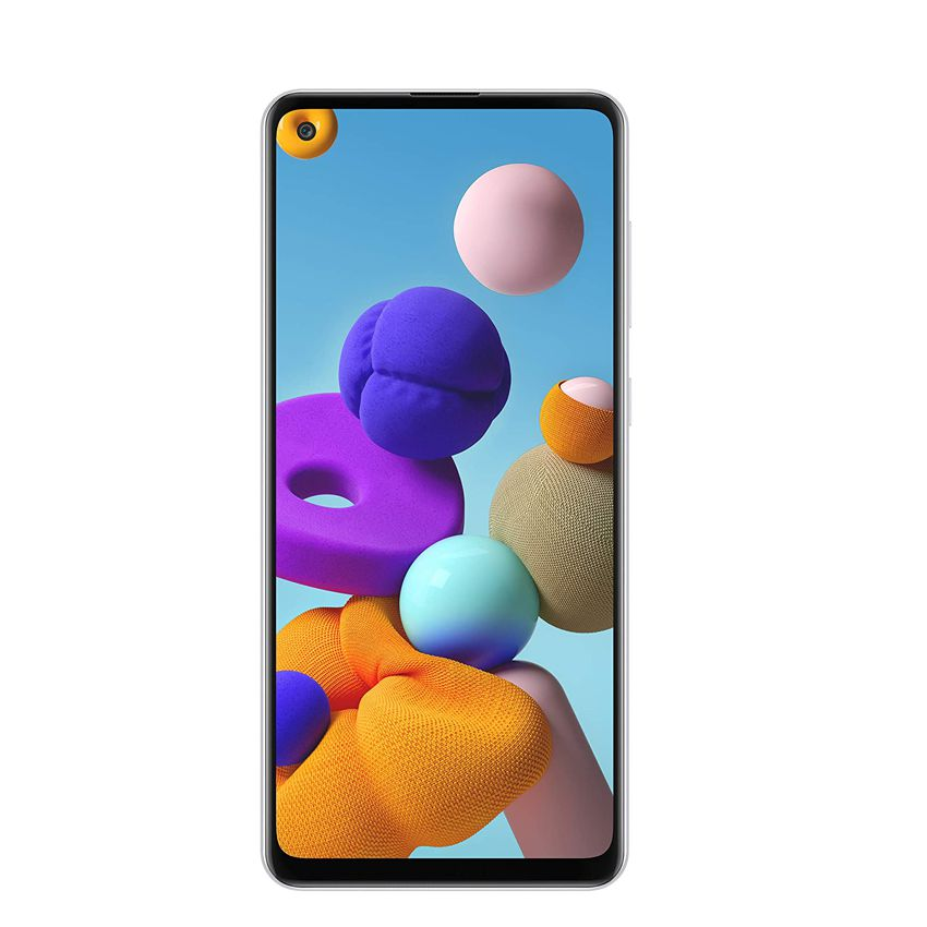 Смартфон SAMSUNG Galaxy A21s SM-A217F/DSN (32GB) White 2