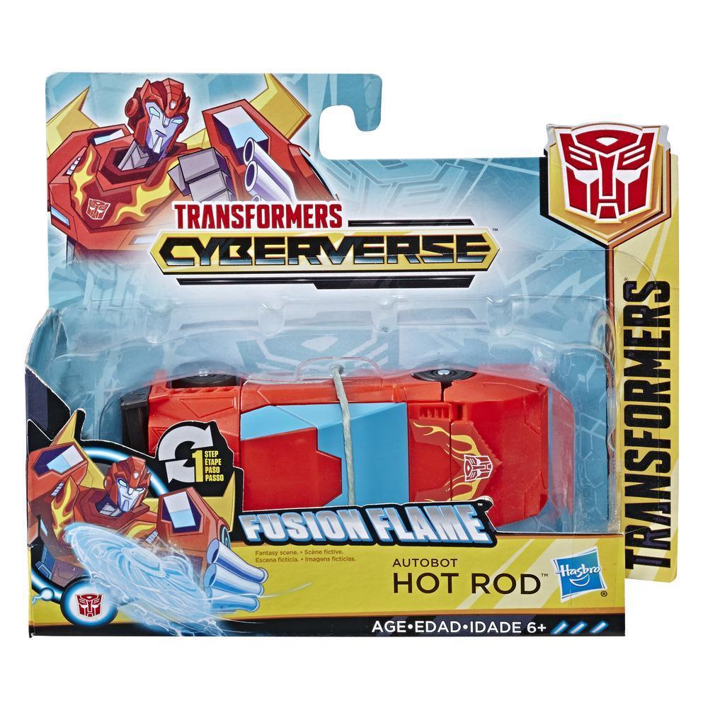 Робот HASBRO TRANSFORMERS Cyberverse 1 Step ast Hot Rod