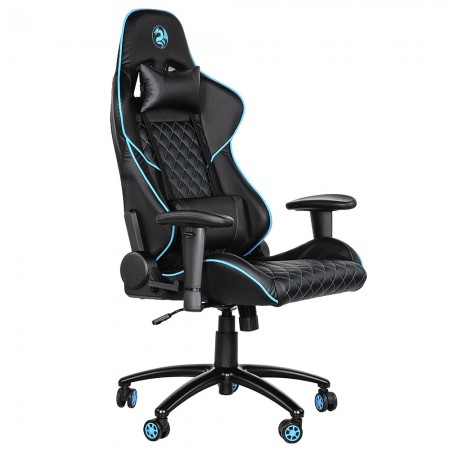 Игровое кресло 2E GC23 Black/Blue 2