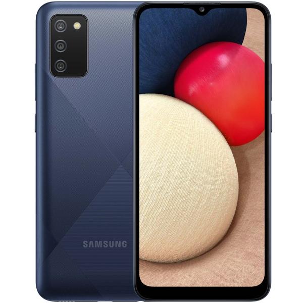 Смартфон SAMSUNG Galaxy A02s SM-A025F/DS (32GB) Blue 2