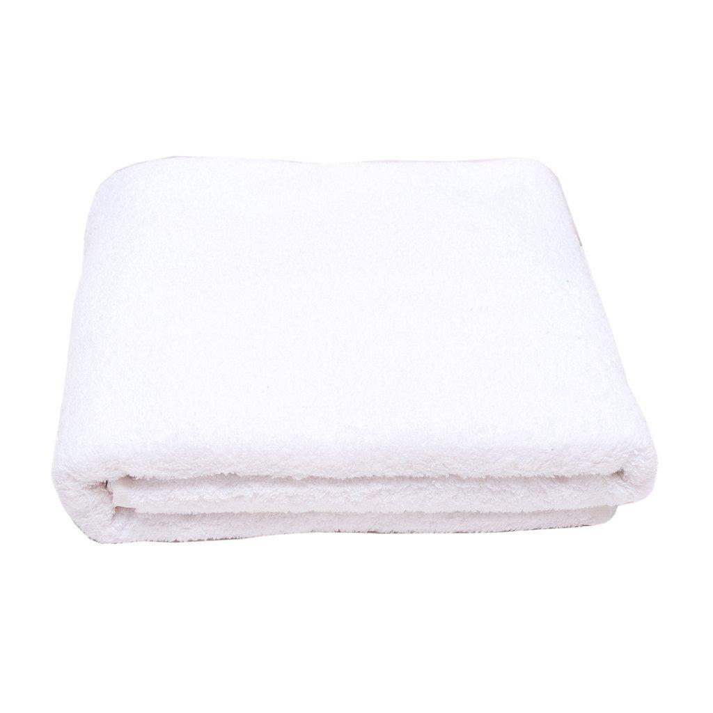Полотенце махровое AST белое размер 100х150 2
