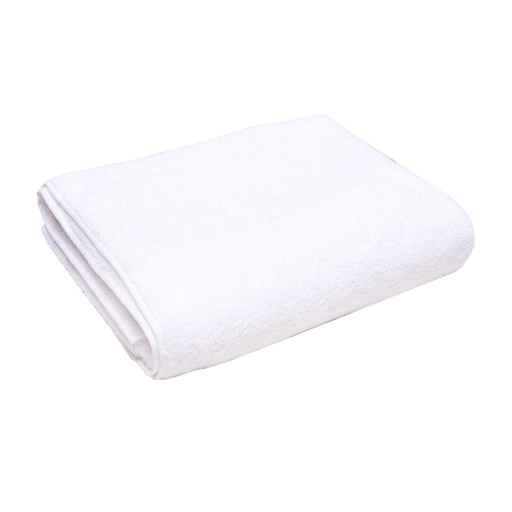 Полотенце махровое AST белое размер 100х150