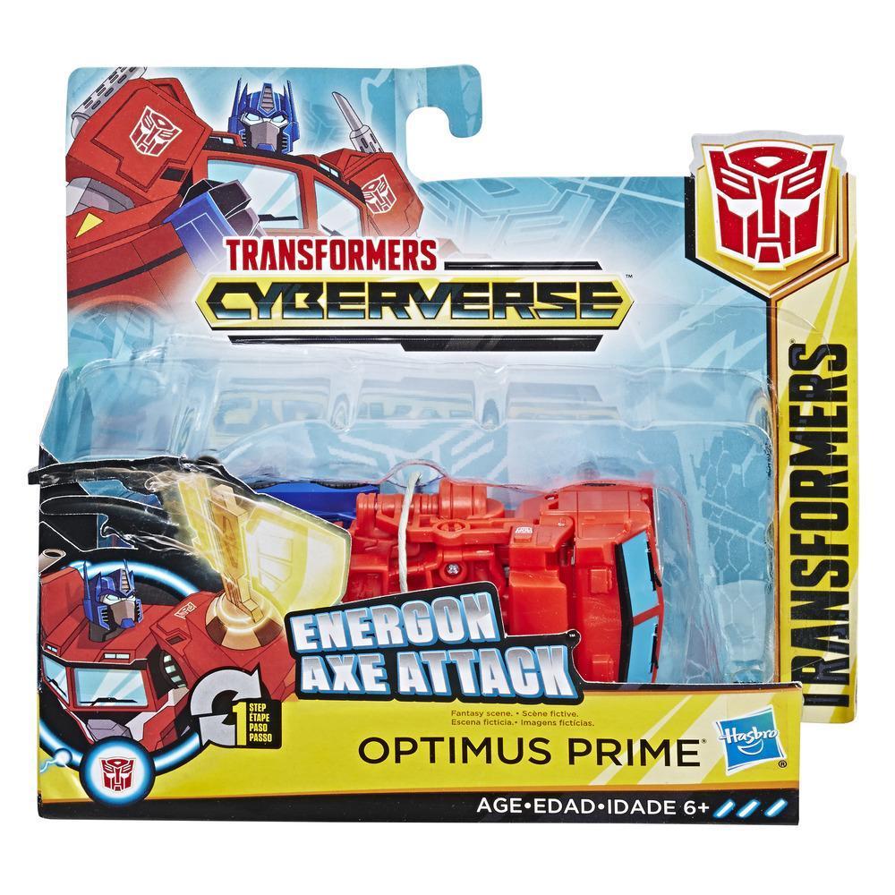 Робот HASBRO TRANSFORMERS Cyberverse 1 Step ast Optimus Prime