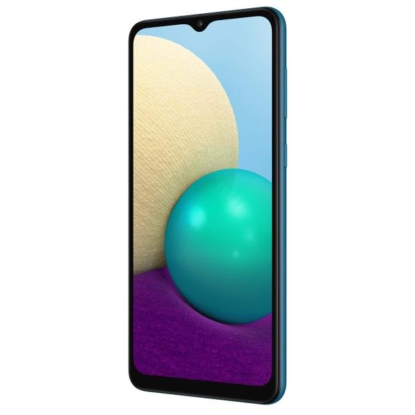 Смартфон SAMSUNG Galaxy A02 SM-A022G/DS (32GB) Blue 2