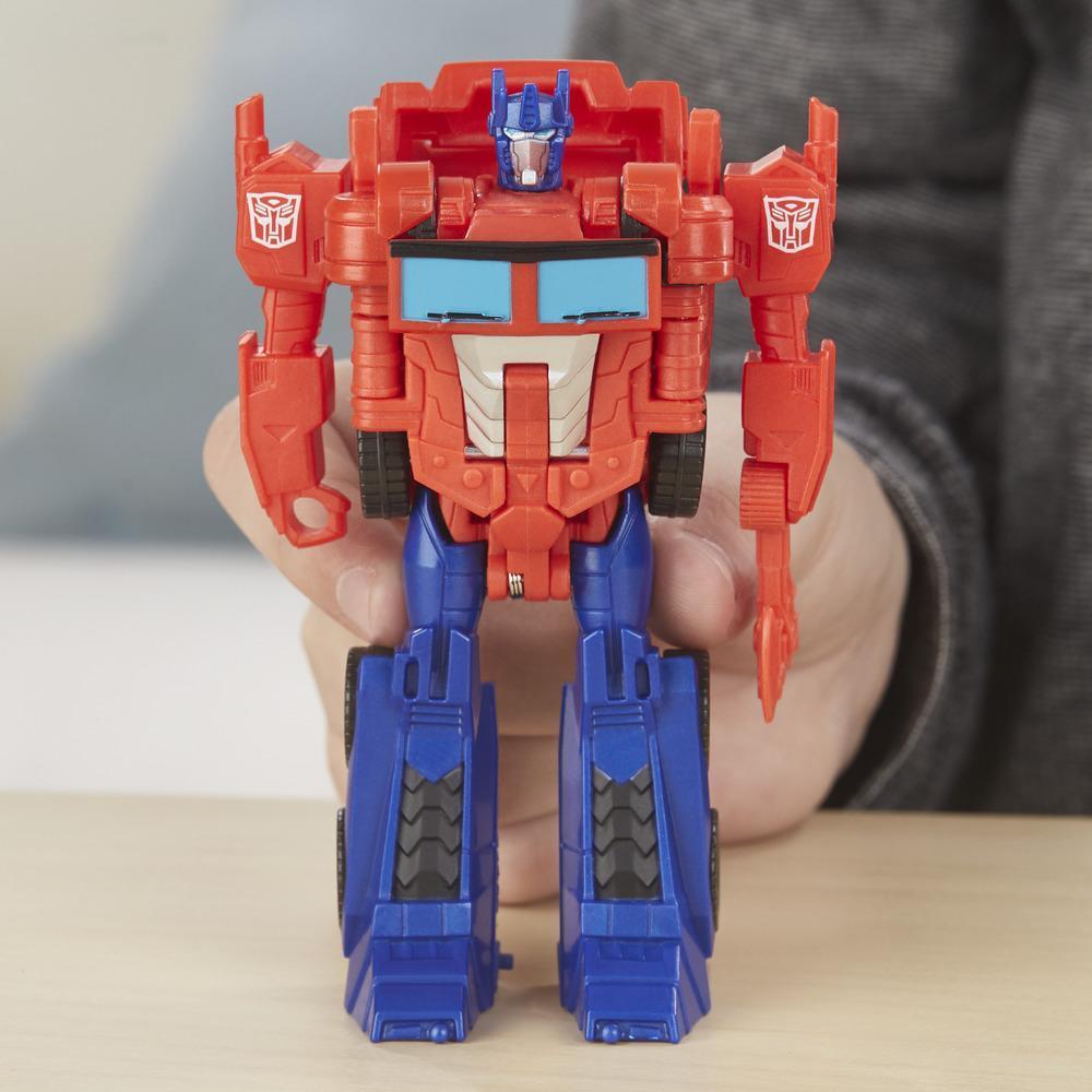 Робот HASBRO TRANSFORMERS Cyberverse 1 Step ast Optimus Prime 2