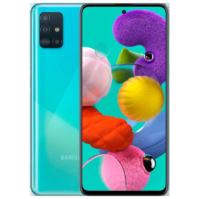 Смартфон SAMSUNG Galaxy A51 SM-A515F/DSN (64GB) Blue 2