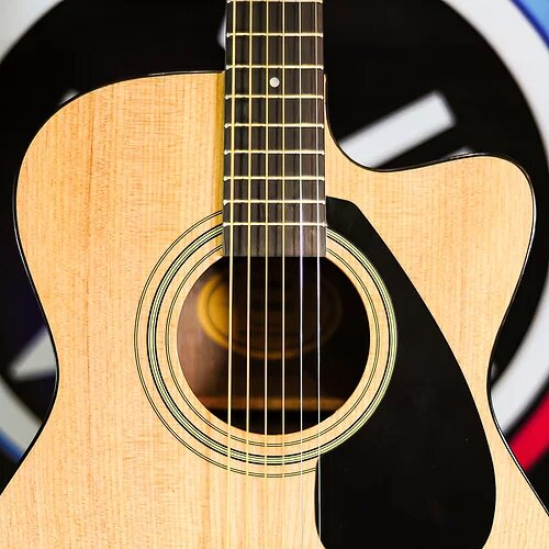Гитара электроакустическая YAMAHA FS100CNT 2