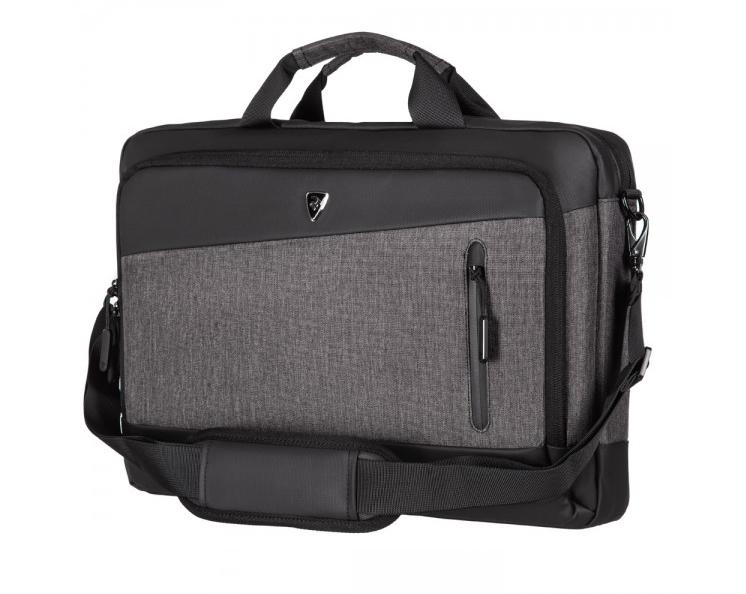 "Сумка для ноутбука 2E Laptop Bag 16"" Slant, Grey-Black"