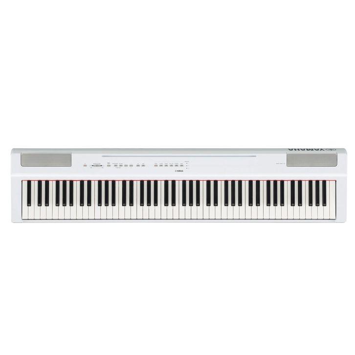 Цифровое фортепиано YAMAHA P-125WH