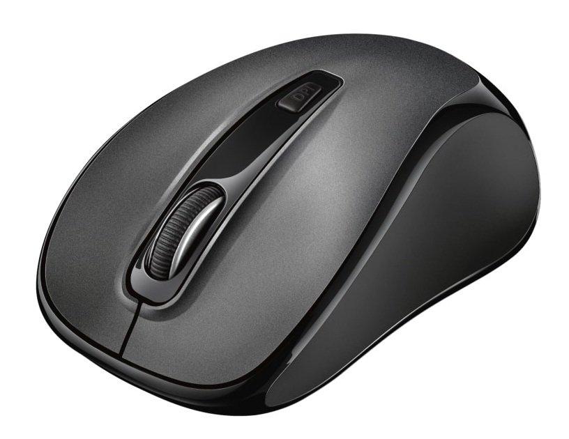 Мышь TRUST SILENT CLICK WIRELESS MOUSE BLACK 2