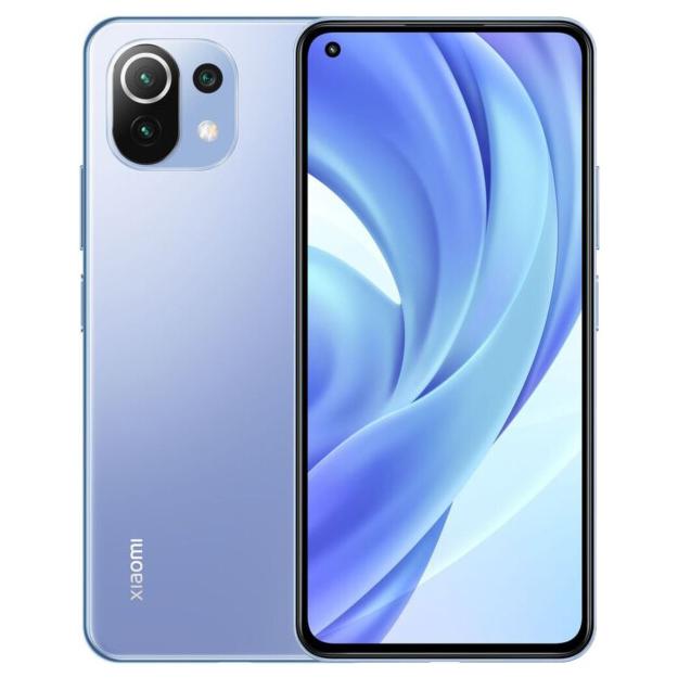 Смартфон Mi 11 Lite 8+128GB Bubblegum Blue 2
