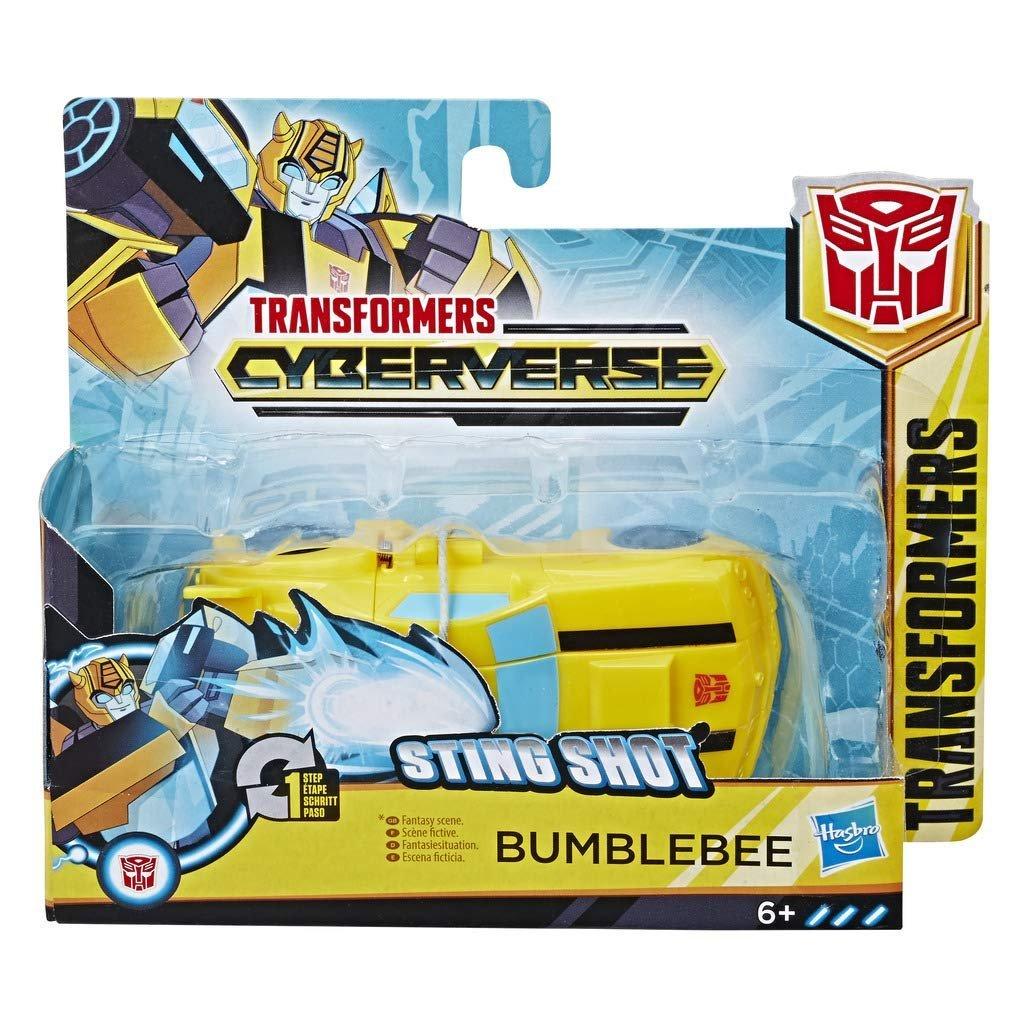 Робот HASBRO TRANSFORMERS Cyberverse 1 Step ast Bumblbee