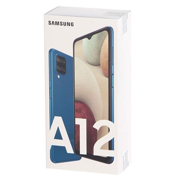 Смартфон SAMSUNG Galaxy A12 SM-A125F/DSN (64GB) Blue 2