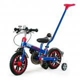 "Велосипед Rastar 12"" Pedal bike with handle bar синий"