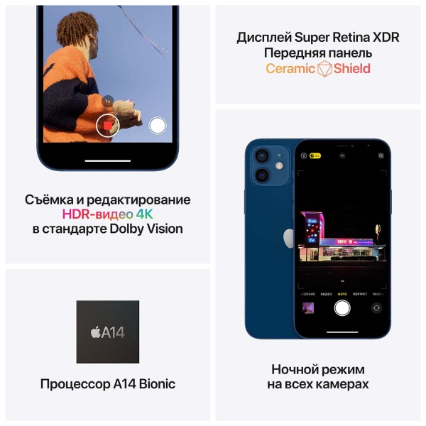 Смартфон iPhone 12 64GB Green 2