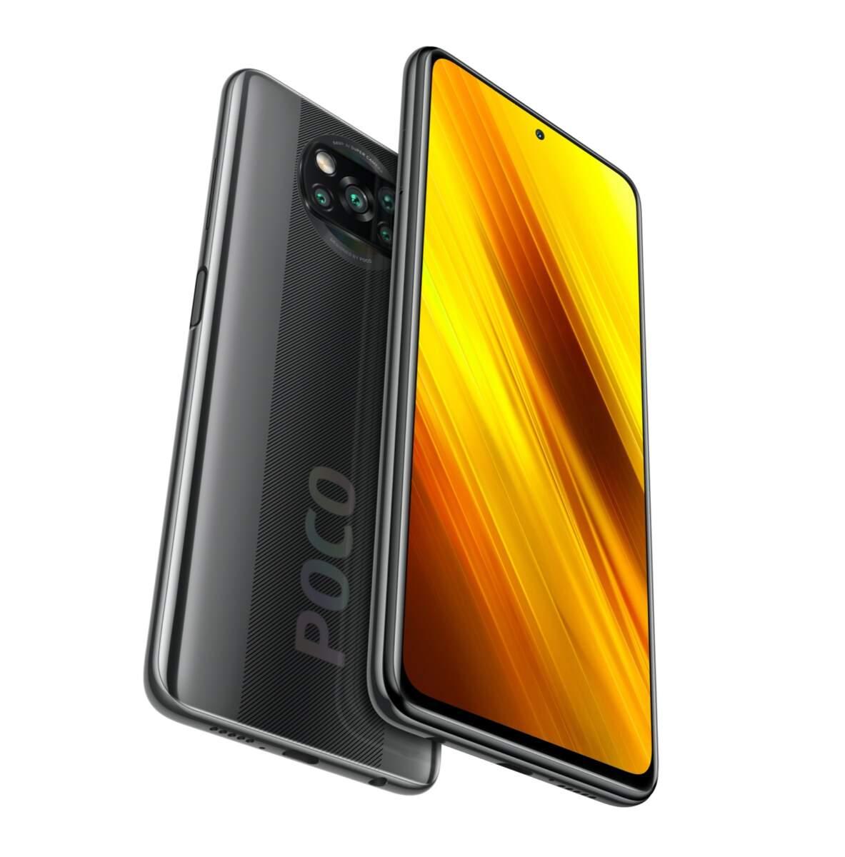 Смартфон Xiaomi POCO X3 6+64GB Shadow Gray 2