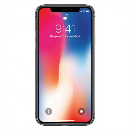 Смартфон APPLE A1901 IPhone X 64Gb Space Grey